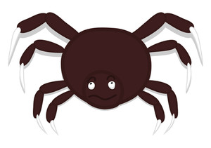 Halloween Dangerous Spider