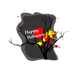 Halloween Dead Tree