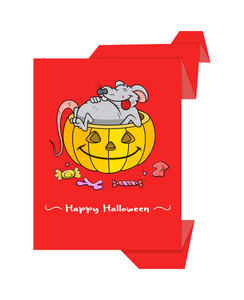 Halloween Graphic Paper Banner
