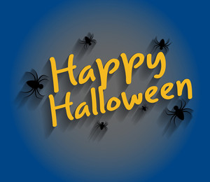 Halloween Greeting Template