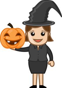 Halloween Lady