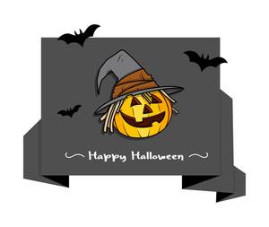 Halloween Pumpkin Paper Banner