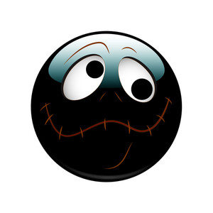 Halloween Spooky Smiley