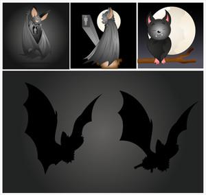Halloween Vampire Bats