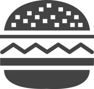 Hamburger Glyph Icon