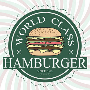 Hamburger Label