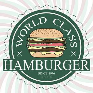Hamburger Label