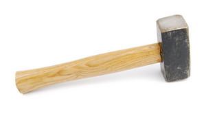 Hammer On White