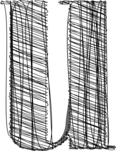 Hand Draw Font Illustration