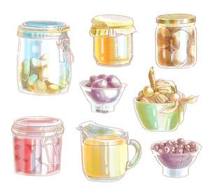 Hand Drawn Food Ingredients