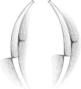 Mão símbolo desenhado