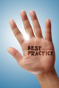 Hand Shows Wording Best Practice