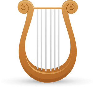 Handheld Harp Lite Music Icons