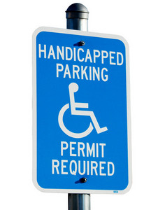 Handicapped Parking Signboard