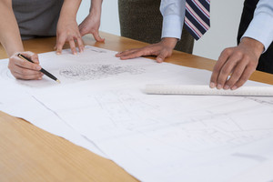 Hands on architectural drawing