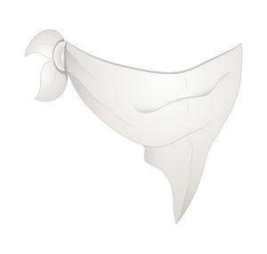 Hankie Mask Vector