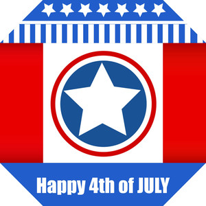 Happy 4th Of July Vector Design