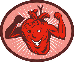 Happy And Healthy  Heart