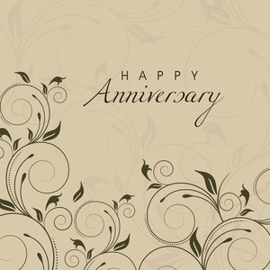 Happy Anniversary Background