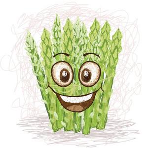 Happy Asparagus