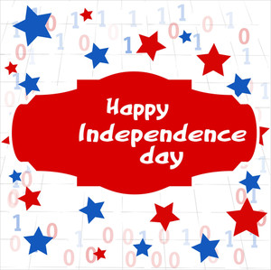 Happy Background Us 4th Of July Independence Day Vector Design