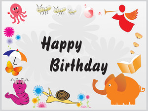 Happy Birthday Decoration For Kid Wallpaper