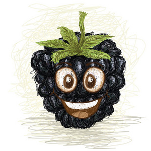 Happy Blackberry