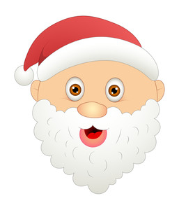 Happy Cartoon Santa