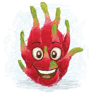 Happy Dragon Fruit