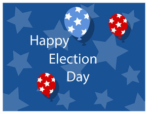 Happy Election Day Background
