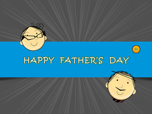 Happy Fathers Day Ceilebrations Concept