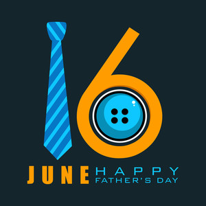Happy Fathers Day Concept With Text
