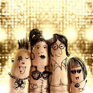 happy finger family图片