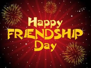 Happy Friendship Day Illustration
