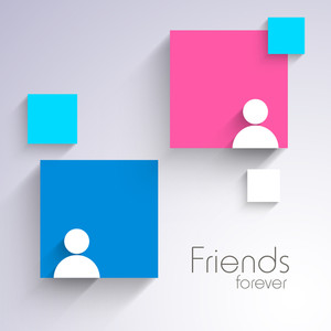 Happy Friendship Day Sticker