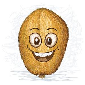 Happy Golden Apple