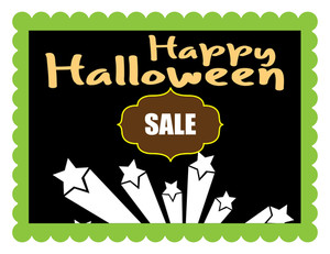 Happy Halloween Sale Banner