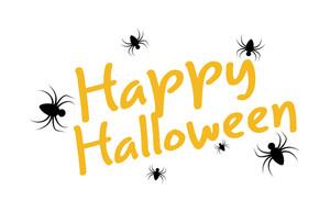 Happy Halloween Text Background