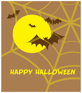 Happy Halloween Vintage Greeting Card