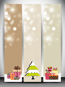 Happy Holidays Website Banners