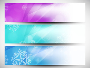 Happy Holidays Website Headers Or Banners