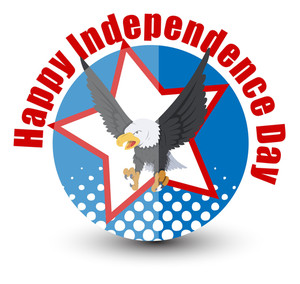 Happy Independence Day 4th Of July Vector