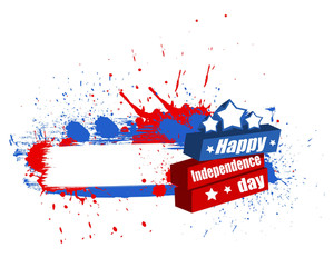 Happy Independence Day Banner Background