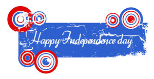 Happy Independence Day Usa  4th Of July Vector Theme Design