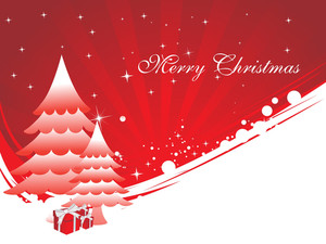 Happy Marry Christmas Background
