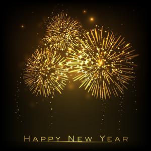 Happy New Year Celebration Background.