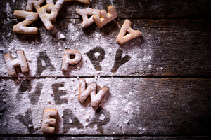 Happy New Year Cookies
