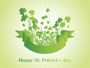 Happy Patrick's Day Background 17 March