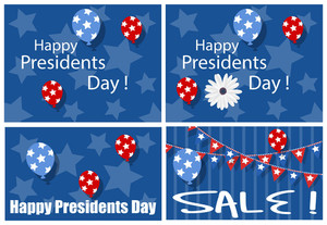 Happy Presidents Day Sale Backgrounds