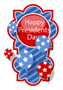 Happy Presidents Day Vector Design Banner